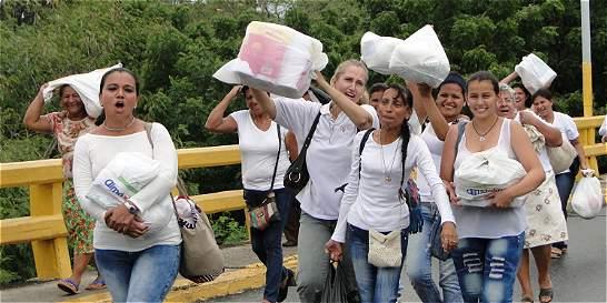 'No vamos a dejar que nuestros hermanos venezolanos pasen hambre'
