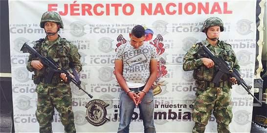 Ejército liberó en Santander a cinco personas secuestradas