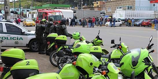 Durante paro camionero, Fuerza Pública ha acompañado 1.150 caravanas