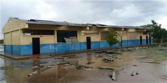 Vendaval afecta cerca de 200 viviendas en Salamina, Magdalena