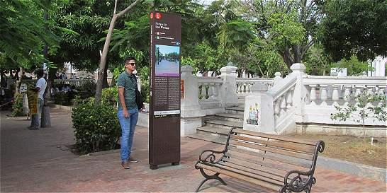 Denuncian fallas en señalización de Centro Histórico de Santa Marta