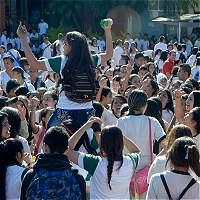 Rebelión estudiantil se toma Dosquebradas (Risaralda)