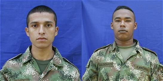 Dos soldados murieron por mina antipersonal en Norte de Santander