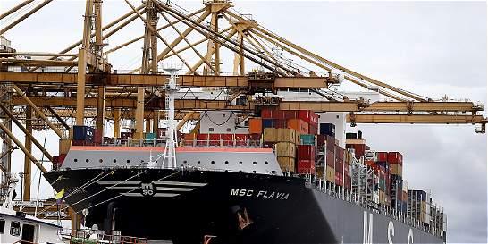 El MSC Flavia, la embarcación más grande que ha llegado al país