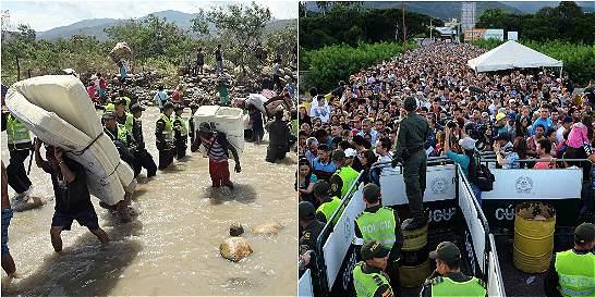 La crisis en la frontera contada en 5 escenarios entristecedores