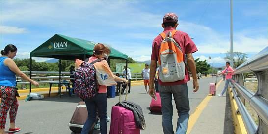 Cúcuta clama para que se reabra el paso con Venezuela