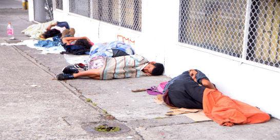 Pereira en emergencia por aumento de habitantes de calle del 'Bronx'