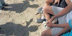 Capturan a hombre que ataba a su hija de dos años con cinta adhesiva
