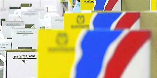 MOE habla de riesgo para plebiscito en 53 municipios