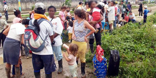 Combates dejan cerca de mil desplazados: ONU