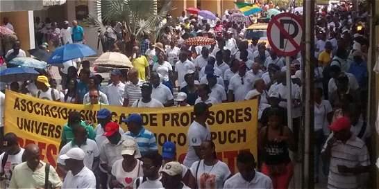 Los 5 males que tienen a Chocó en paro cívico
