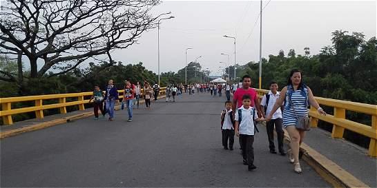 En Cúcuta, regularán admisión de estudiantes venezolanos en colegios