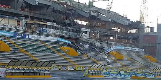 Tragedia en Neiva por desplome de tribuna en obras del estadio