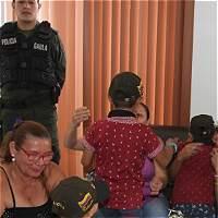 Policía rescató en Tolima a tres niños secuestrados por su padre