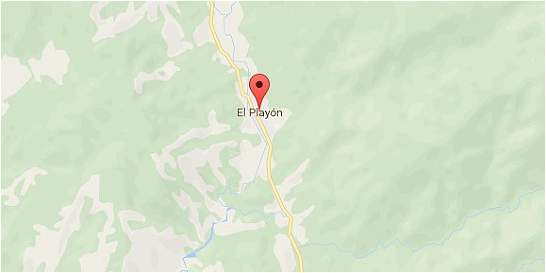 Fuerte temblor en El Playón, municipio de Santander