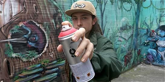 Pereirano representará al país en eventos de artistas del grafiti