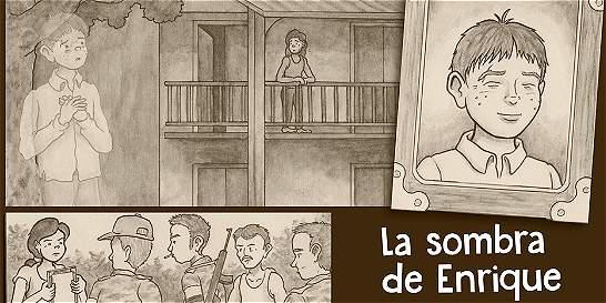 La historia de los desaparecidos en Colombia en viñetas