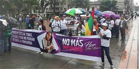 Marchas en Huila para recordar a periodista asesinada