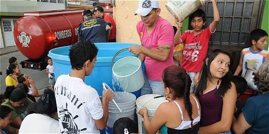 Torrenciales aguaceros dejaron sin agua a habitantes de Ibagué