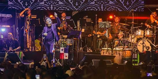 El Green Moon Festival se cerró con la actuación de Rubén Blades