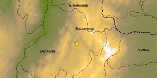 Fuerte temblor se registró en Santander