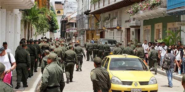 Con 2.700 hombres de la Fuerza Pública se custodiará el acto