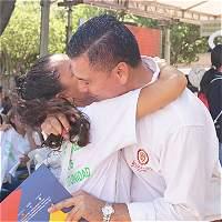 En Cúcuta, excombatientes y víctimas del conflicto se dieron un abrazo