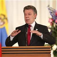 'Si liberan los secuestrados podría negociar con el Eln': Santos