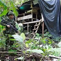 Destruyen laboratorio para procesar cocaína en el sur de Bolívar