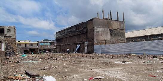 Se recupera sector afectado por incendio en mercado de Santa Marta
