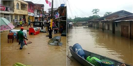Más de 63.000 afectados por invierno en el Chocó