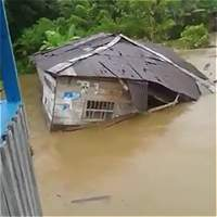 Más de 10.000 damnificados por invierno en Chocó