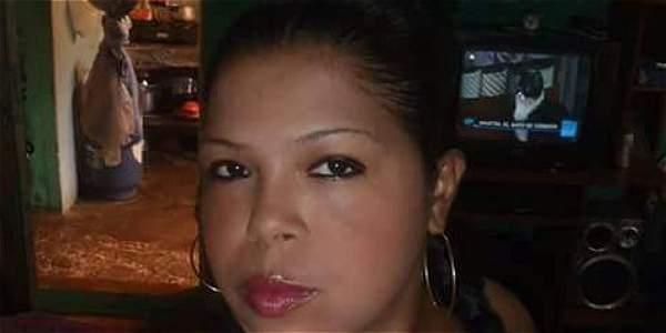 Sandra Marcela González, la víctima.