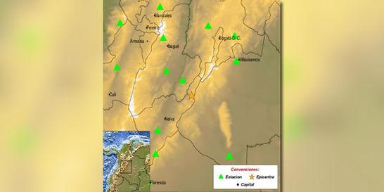 Sismo de magnitud 5,4 se presentó este domingo con epicentro en Huila