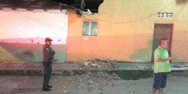 La Policía del Huila reportó una casa averiada en el municipio de Colombia.