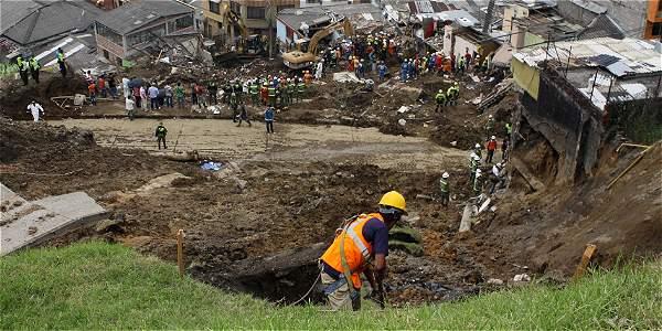 Cinco años de la tragedia del barrio Cervantes en Manizales