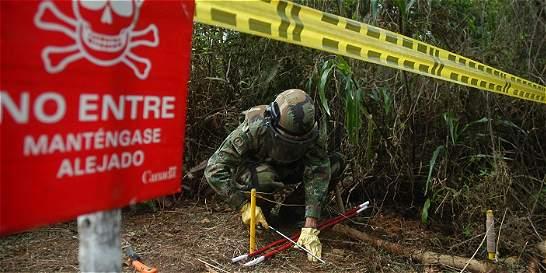 Joven de 19 años, herido por mina antipersona del Eln en Arauca
