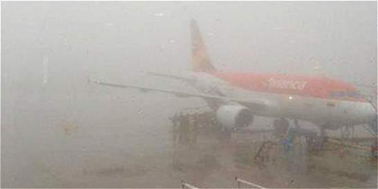 El clima ha afectado la operación de varios aeropuertos del país