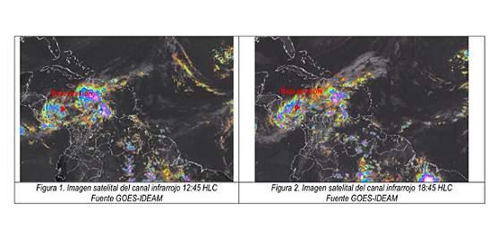 Alerta por posible ciclón tropical en San Andrés y Providencia