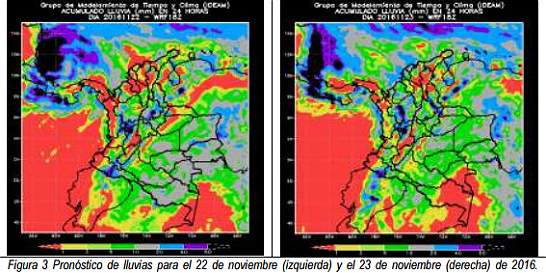 Otto se convierte en huracán y atraviesa Centroamérica