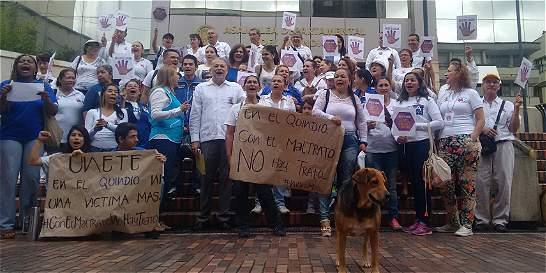 Derly les dio más fuerza a las marchas por la mujer en el Eje Cafetero
