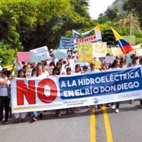 No hay trámite para hidroeléctrica en Sierra Nevada