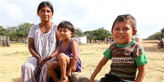 La lucha de una familia wayú por superar la desnutrición