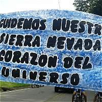 No a hidroeléctrica  en la Sierra Nevada de Santa Marta