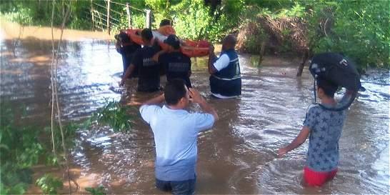 Por invierno, declaran alerta amarilla en 8 municipios de La Guajira