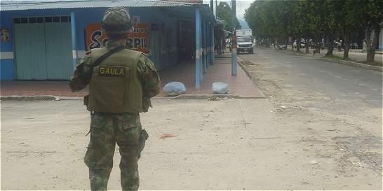 El Eln asesinó a dos policías en Saravena (Arauca)