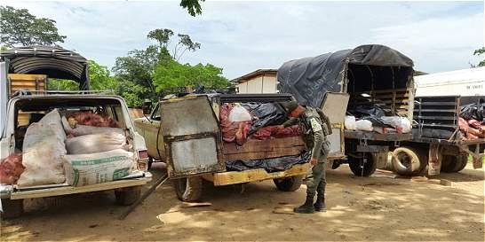 Policía desmanteló centro de sacrificio animal en zona rural de Cúcuta