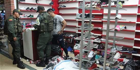 Incautan más de 5.000 artículos de contrabando en Cúcuta