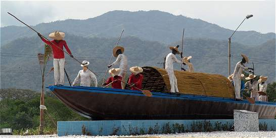 'Monumento La Piragua no vulnera derechos patrimoniales'