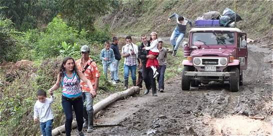 Invierno afecta a 30 municipios de Huila y Tolima